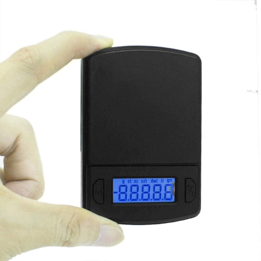 GPWDSN balanza Digital accuweight, balanza Digital de Bolsillo Mini balanza de precisión 100G / 200G / 500G 0.01/0.1G balanza Digital de Bolsillo para joyería de Oro Peso gramo Balance LCD Electr