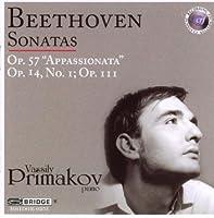 Beethoven: Sonatas Op. 57 Appassionata, 14/1, 111 by Vassily Primakov (2008-03-04)