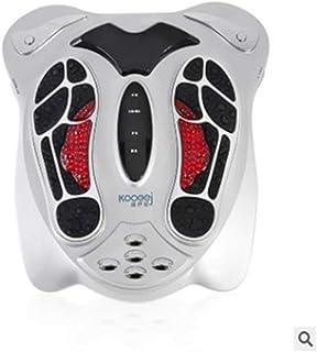 赤外線フットマッサージャーフットマッサージャーフットマッサージャー低周波健康理学療法器具, Silver