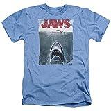 Jaws 1975 Thriller Movie Steven Spielberg Title Adult Heather T-Shirt X-Large