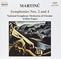 Martinu: Symphonies Nos. 2 and 4 (2001-03-20)