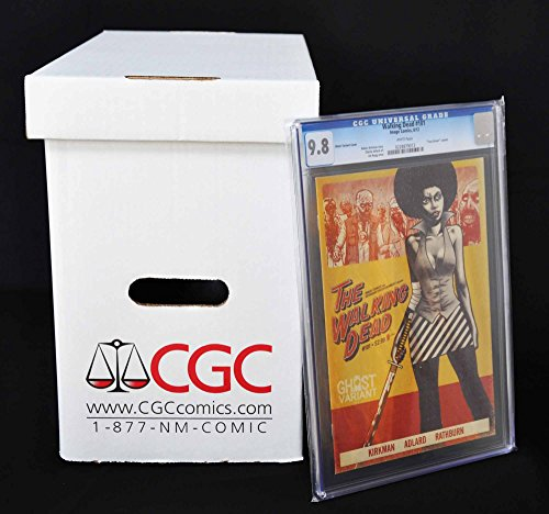 "CGC/PGX Graded Comic Storage Box - Official Authorized - Measures 15"" x 8-1/2"" x 13"" - Case of 5 Boxes!"