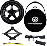 Complete Compact Spare Tire Kit w/Carrying Case - Fits 2020-2021 Tesla Model Y - Modern Spare