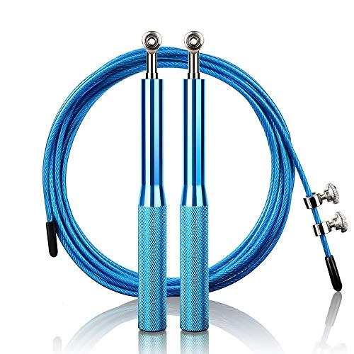 arteesol Springseil, Speed Rope mit Anti-Rutsch-Premium-Aluminium-Griff und Kugellagern, Verstellbares Seilspringen/Jump Rope für Damen, Herren, Kinder, Fitness, Boxen, Ausdauer, Abnehmen