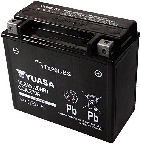 台湾ユアサ YTX20L-BS