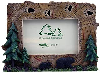 Wilcor Bear Tracks 4 x 6 Picture Frame