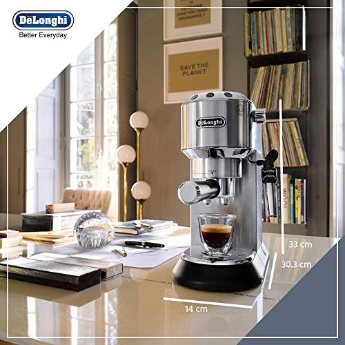 De'Longhi Dedica Style, Machine expresso pour préparer des boissons café et lactées, EC685M,...