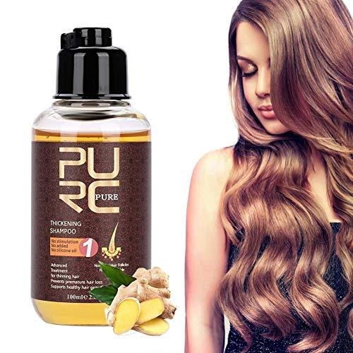 Champú para el crecimiento del cabello, 100 ml Champú para el cabello profesional Acondicionador para el cabello Potente acelerador para la pérdida del cabello, Regeneración capilar irritante