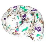 Changuitos® - Protector de cuna Montessoriano con bolsillo, protector para cuna, reductor, cojín de embarazo, cojín de lactancia, fabricado en Italia (Alpaca)