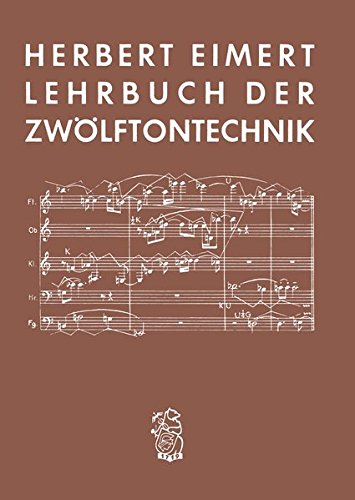 Lehrbuch der Zwölftontechnik (BV 15)