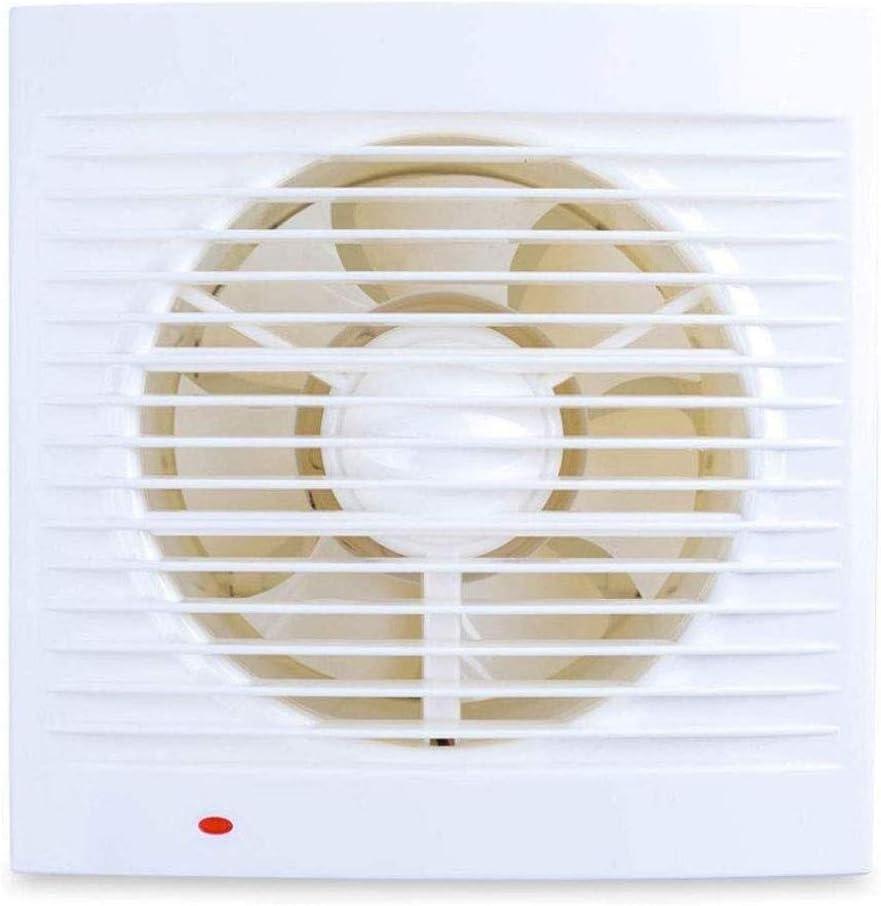 RJSODWL Extractor - Pequeño de Escape del Ventilador de Cristal Pared de la Ventana de ventilación de Tipo Baño Fuerte ventilación del Ventilador de ventilación