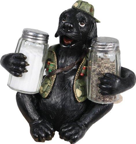 River's Edge Black Lab Salt & Pepper Shaker Set
