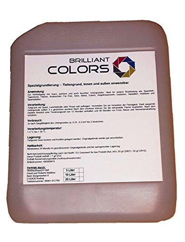 20 kg Alkydharz Grundierung Haftvermittler, Hochwertige diffusionsoffene Spezialgrundierung für den Innen und Außenbereich