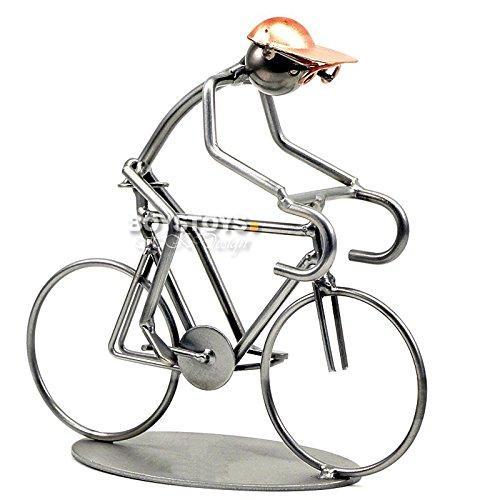Boystoys.de Metall-Art Design Figur Fahrrad Rennrad