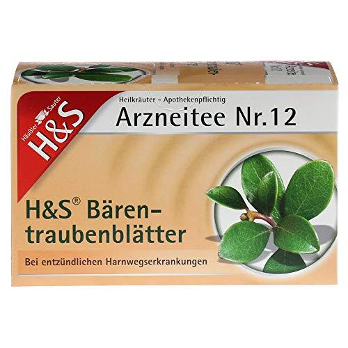 H&S Bärentraubentee Filterbeutel 20X2.7 g