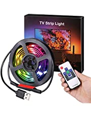AMIR LED Photo Clip String Lights, 40 LED Photo Clip Lights, 5M Starry Wall Decoration Light, Picture Lights, Hanging Memorable Photo, Notes, Postcard, Artwork, Warm White