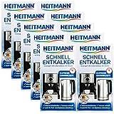 Heitmann Schnell-Entkalker: Natürlicher Universalentkalker für Kaffeemaschinen, Wasserkocher,...