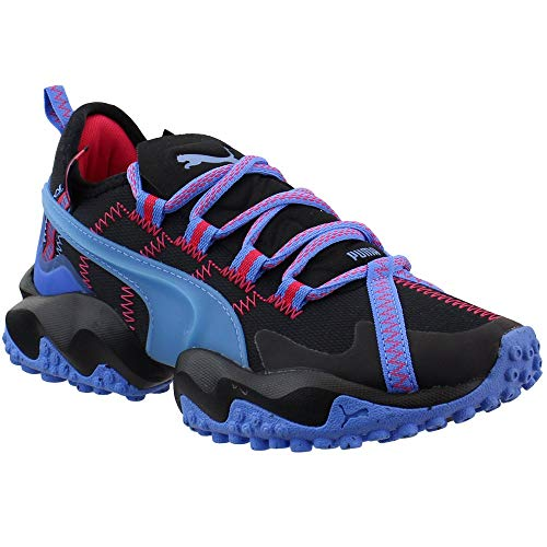PUMA Womens Erupt Trail Running Sneakers Shoes - Black - Size 6 B