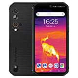 Rugged Cell Phone Unlocked Blackview BV9900Pro(2020), Thermal Imaging Helio P90 8GB+128GB Waterproof Smartphone 48MP+16MP, Wireless Charging 5.84' FHD+ Global 4G LTE GSM AT&T T-Mobile Dual SIM Phone