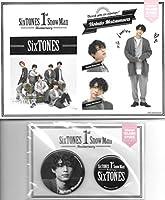 松村北斗 Sixtones 1st Anniversary ステッカー 缶バッジセット