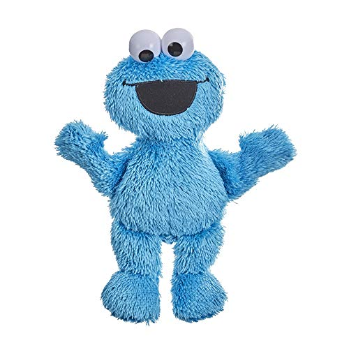 Sesame Street Little Laughs Tickle Me Cookie Monster, Talking, Laughing 10-Inch Plush Toy for Toddlers, Kids 12 Months and Up