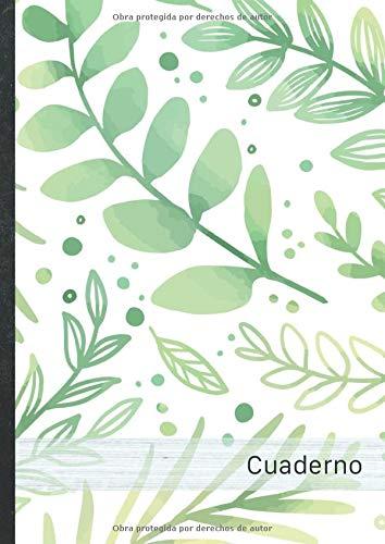 Cuaderno: 120 páginas forradas • Bloc de Notas con tapa blanda •...