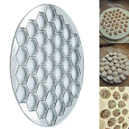 Moule à raviolis 37 trous en alliage d'aluminium, moule à raviolis, presse à pâte, moule à raviolis, moule à tarte, outil de pâtisserie, moule à raviolis, accessoires de cuisine