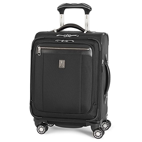 Best Review Of Travelpro Platinum Magna 2-Softside Expandable Spinner Wheel Luggage, Black, Carry-On...