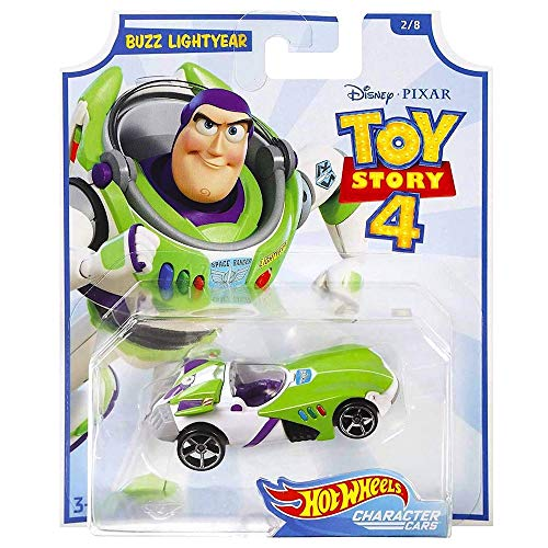Hot Wheels Toy Story 4 Buzz Lightyear Character Car