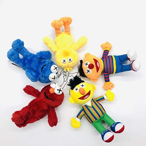 agzhu 5 uds 15Cm Barrio Sésamo Elmo Cookie Big Bird Ernie...