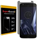 [2-Pack] For Motorola Moto Z Play/Moto Z Play Droid - SuperGuardZ Privacy Anti-Spy Screen Protector, Anti-Glare, Anti-Scratch, Anti-Bubble