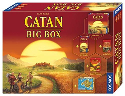 Catan - Big Box: Familienspiel für 3 - 6 Spieler ab 10 Jahren