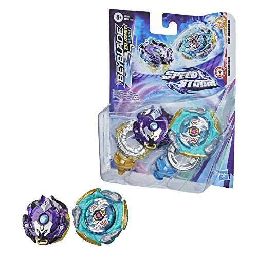 BEYBLADE Burst Surge Speedstorm Glide Dullahan D6 and Minoboros M6 Spinning Top Dual Pack  2 Battling Game Top Toy for Kids Ages 8 and Up