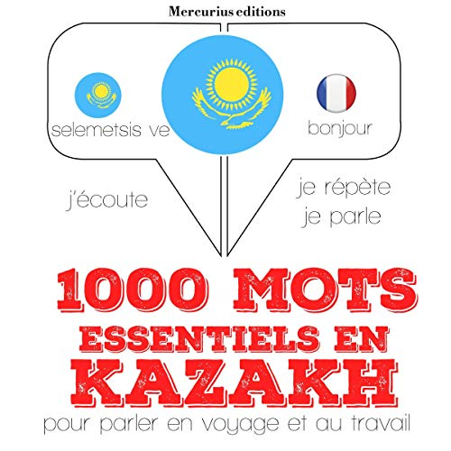 Couverture de 1000 mots essentiels en kazakh