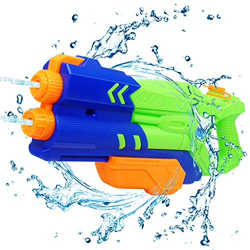 zewei Water Gun for Kids, Squirt Guns High Capacity 1200CC Water Blaster Soaker Up to 32 Feet Range, Water Shoot Toys for Boys Swimming Pools Beach Party Water Shooter Fightting Toy.