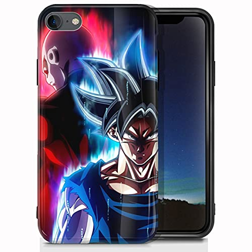 vgfshcw Cover iPhone 7/Cover iPhone 8 Glossy Bright Soft Slim Shockproof TPU Case gam e of Thro NES daene RYS Cases_369