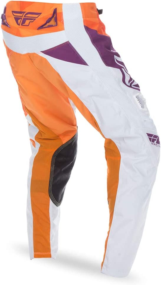 Fly Racing Unisex-Adult Kinetic Crux Pants Orange//Purple, Size 24