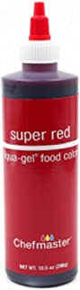 Chefmaster Liqua-Gel Food Color, 10.5-Ounce, Super Red