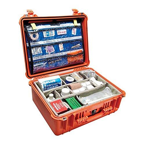 HJKH Esponja Maleta de Negocios Protección Fotografía Caja Box Equipo Médico Equipo de Instrumentos Caja de Seguridad Maleta Storm Box con Esponja Exterior (Color : C1, Size : 52.5x43.7x21.3cm)