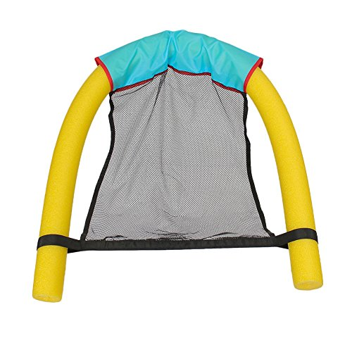 Matedepreso Pool Floating Chair, Swimming Leisure Stick Chair, Adults Noodle Swimming Chair