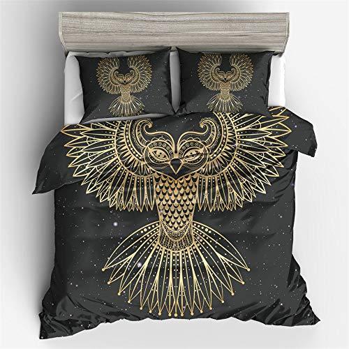 SONGHJ Bettwäsche Bettbezug aus Polyester 3D digital gedruckte abstrakte Blumen Bettbezug Bettbezug in voller Größe für den Haushalt
