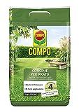 compo concime per prato, concime granulare, per un manto erboso sano e rigoglioso, nutrimento fino a 4 mesi, 5 kg