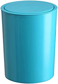 Poubelle à la maison Bullet bouton poubelle, seau de rangement en plastique couleur cuisine salle de bains Poubelle compac...