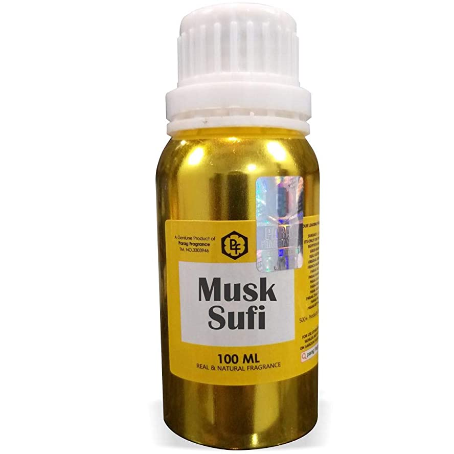 ベテラン柔らかい足過ちParagフレグランスムスクスーフィーアター100ミリリットル(男性用アルコールフリーアター)香油| 香り| ITRA