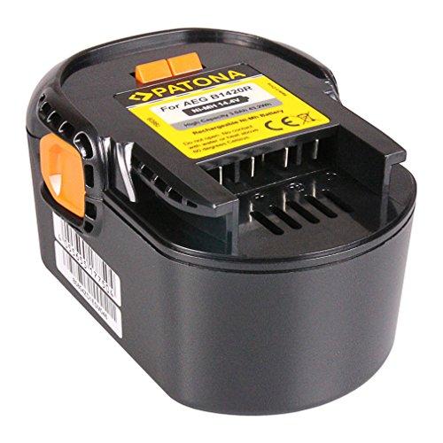 PATONA Batteria B1420R Ni-MH 3000mAh 14.4V compatibile con AEG BBM 14 STX-R, BS 14 XN, BS14 GNC, BSB 14 STXN, BSB 14 STX-R, BSS 14, FL 14