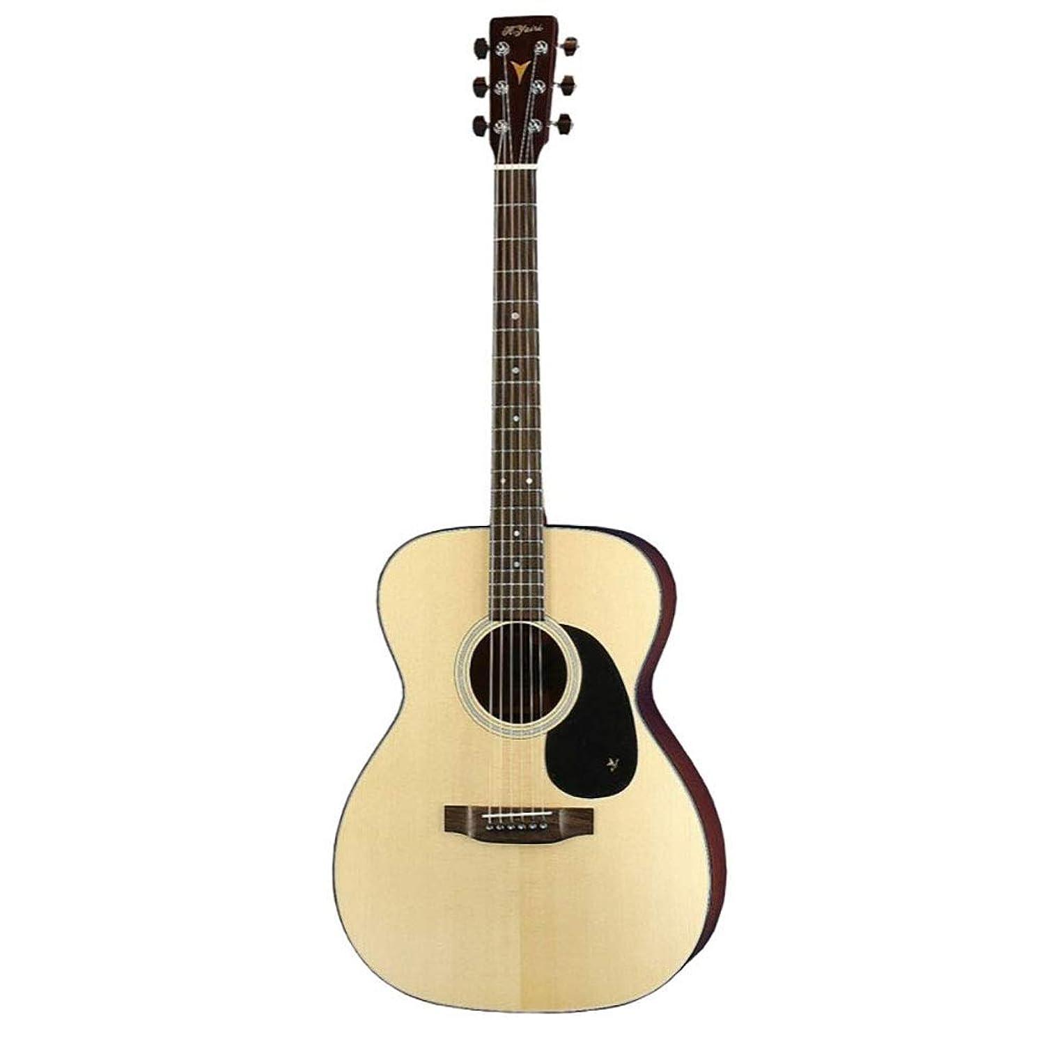 あいまいブルゴーニュ定期的なK.YAIRI YF-00018 N アコースティックギター ハードケース付き
