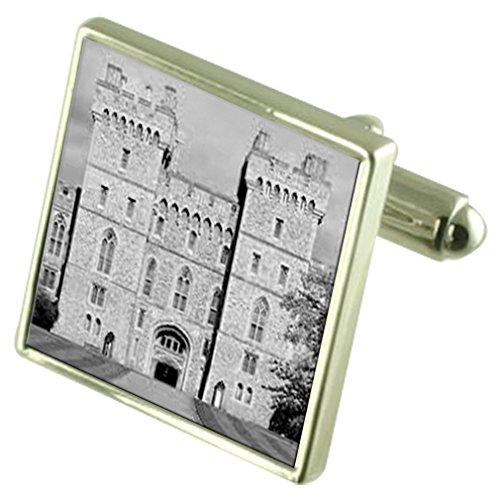 Schloss Windsor Manschettenknöpfe mit Tasche