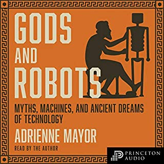 Gods and Robots audiobook cover art