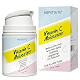 HOPEMATE H Vitamin C Moisturizer-Anti aging, Reduce Wrinkles & Dark Spot, Daily for Dry, Sensitive, Oily Skin Restore - Boost Collagen Cream, 1.7OZ