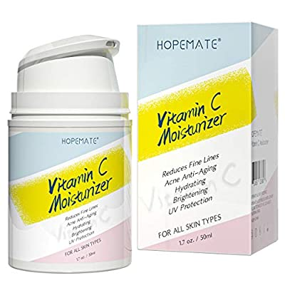 HOPEMATE H Vitamin C Moisturizer-Anti aging, Re...